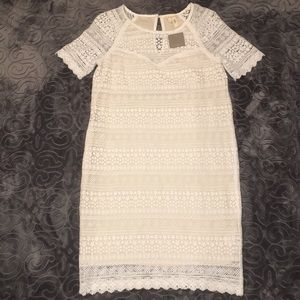NWT Anthropologie lace dress